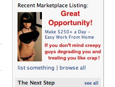 Cam girl ad